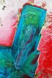 θειικό άλας κρυστάλλων χαλκού Στοκ εικόνα με δικαίωμα ελεύθερης χρήσης