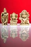 Θεοί Ινδός τρία στοκ φωτογραφία με δικαίωμα ελεύθερης χρήσης