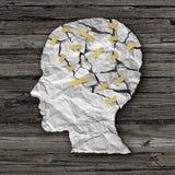 Θεραπεία ασθενειών εγκεφάλου διανυσματική απεικόνιση