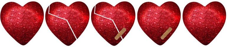 Θεραπεία μιας καρδιάς Στοκ Φωτογραφίες