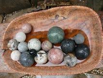 θεραπεία πετρών κρυστάλλου Στοκ φωτογραφία με δικαίωμα ελεύθερης χρήσης