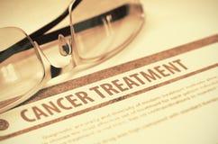 Θεραπεία του καρκίνου Ιατρική τρισδιάστατη απεικόνιση Στοκ Εικόνες