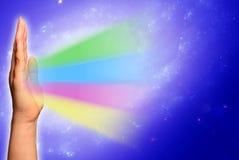θεραπεία χεριών Στοκ εικόνες με δικαίωμα ελεύθερης χρήσης