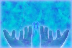 θεραπεία χεριών Στοκ φωτογραφίες με δικαίωμα ελεύθερης χρήσης
