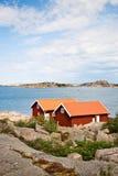 Θερινά εξοχικά σπίτια Στοκ φωτογραφία με δικαίωμα ελεύθερης χρήσης