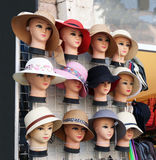 Θερινά καπέλα Στοκ εικόνα με δικαίωμα ελεύθερης χρήσης