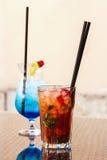 Θερινά ποτά Στοκ εικόνες με δικαίωμα ελεύθερης χρήσης