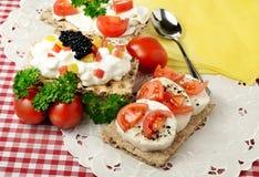 Θερινά πρόχειρα φαγητά Στοκ Εικόνα