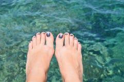 Θερινά πόδια Στοκ Φωτογραφία