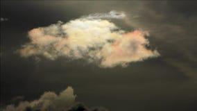 Θερινά σύννεφα του Βερολίνου, Γερμανία απόθεμα βίντεο