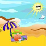 θερινές διακοπές απεικόνιση αποθεμάτων