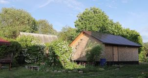Θερινές εξοχικό σπίτι και εγκαταστάσεις στο ναυπηγείο φιλμ μικρού μήκους