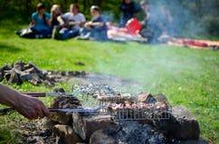 Θερινές διακοπές με μια κιθάρα Στοκ Εικόνα