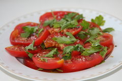 Θερινές ντομάτες Στοκ εικόνα με δικαίωμα ελεύθερης χρήσης