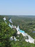 Θερινή άποψη Svyatogorsk Στοκ εικόνες με δικαίωμα ελεύθερης χρήσης