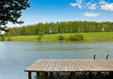 Θερινή λίμνη Στοκ Εικόνες