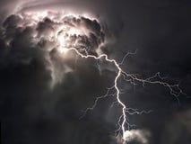Θερινή αστραπή Στοκ Φωτογραφία