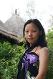θερινή γυναίκα στοκ φωτογραφία