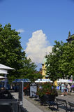 Θερινή εντύπωση σε Karlskrona, Σουηδία Στοκ φωτογραφία με δικαίωμα ελεύθερης χρήσης