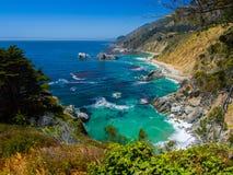 Θερινή ημέρα από τον ωκεανό στοκ φωτογραφίες