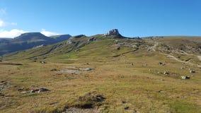 Θερινή ημέρα στα βουνά Στοκ φωτογραφίες με δικαίωμα ελεύθερης χρήσης