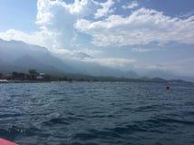 Θερινή θάλασσα της Τουρκίας boattrip στοκ εικόνα με δικαίωμα ελεύθερης χρήσης