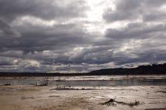 Θερινή θύελλα Στοκ φωτογραφίες με δικαίωμα ελεύθερης χρήσης