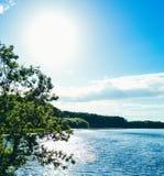 Θερινή λίμνη Στοκ φωτογραφία με δικαίωμα ελεύθερης χρήσης