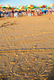 Θερινή παραλία, πάρκο θάλασσας, Guangdong, Κίνα Στοκ Εικόνες