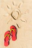 Θερινή παραλία Στοκ Εικόνες