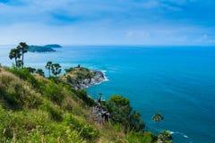 Θερινή παραλία Phuket Ταϊλάνδη ορόσημων Στοκ φωτογραφία με δικαίωμα ελεύθερης χρήσης