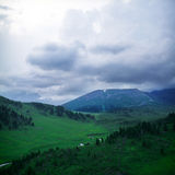 θερινή όψη υψηλών βουνών s Στοκ φωτογραφία με δικαίωμα ελεύθερης χρήσης