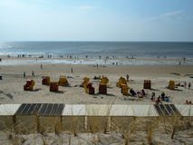 Θερινή ` s ημέρα στην παραλία Στοκ Εικόνα