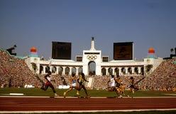 1984 θερινοί Ολυμπιακοί Αγώνες, Λος Άντζελες, ασβέστιο Στοκ εικόνες με δικαίωμα ελεύθερης χρήσης
