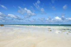 Θερινοί παραλία και ωκεανός Στοκ Φωτογραφία