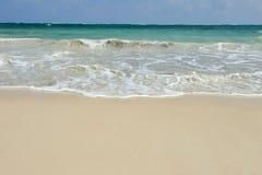 Θερινοί παραλία και ωκεανός Στοκ εικόνες με δικαίωμα ελεύθερης χρήσης