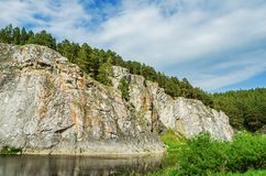 ΘΕΡΙΝΟ τοπίο Ρωσία ural Στοκ φωτογραφίες με δικαίωμα ελεύθερης χρήσης