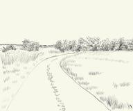 ΘΕΡΙΝΟ τοπίο Στοκ εικόνες με δικαίωμα ελεύθερης χρήσης