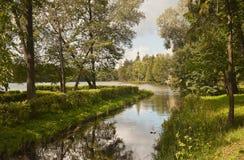 ΘΕΡΙΝΟ τοπίο Στοκ Εικόνα
