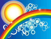 θερινός ήλιος Στοκ εικόνα με δικαίωμα ελεύθερης χρήσης