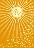 θερινός ήλιος απεικόνιση αποθεμάτων