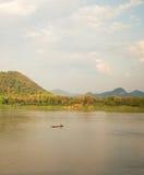 Θερινός ποταμός Μεκόνγκ Ταϊλάνδη Στοκ φωτογραφία με δικαίωμα ελεύθερης χρήσης