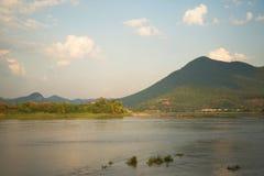 Θερινός ποταμός Μεκόνγκ Ταϊλάνδη Στοκ εικόνες με δικαίωμα ελεύθερης χρήσης