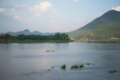 Θερινός ποταμός Μεκόνγκ Ταϊλάνδη Στοκ εικόνα με δικαίωμα ελεύθερης χρήσης