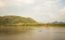 Θερινός ποταμός Μεκόνγκ Ταϊλάνδη Στοκ Εικόνα