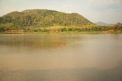 Θερινός ποταμός Μεκόνγκ Ταϊλάνδη Στοκ Φωτογραφία
