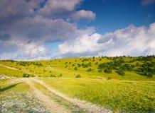 Θερινός δρόμος Στοκ Εικόνες