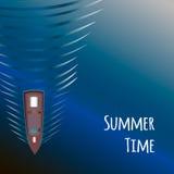 Θερινός χρόνος, ωκεανός Στοκ φωτογραφία με δικαίωμα ελεύθερης χρήσης