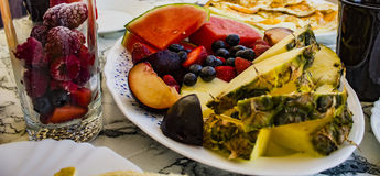 Θερινό γεύμα Στοκ Φωτογραφίες