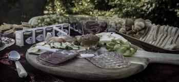 Θερινό γεύμα Στοκ εικόνες με δικαίωμα ελεύθερης χρήσης